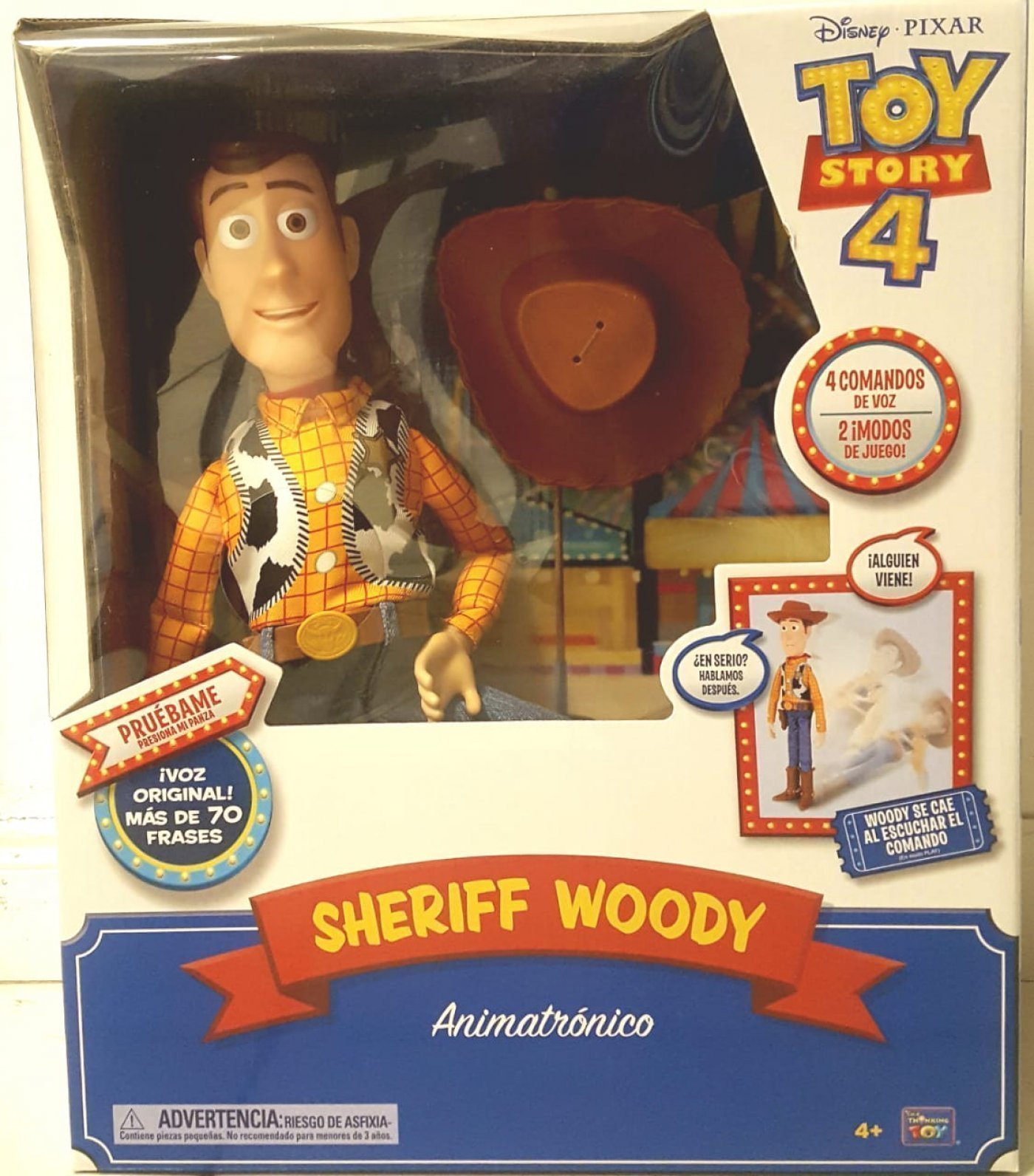 TOY STORY 4 WOODY 70 FRASES ( cae solo con tu voz )