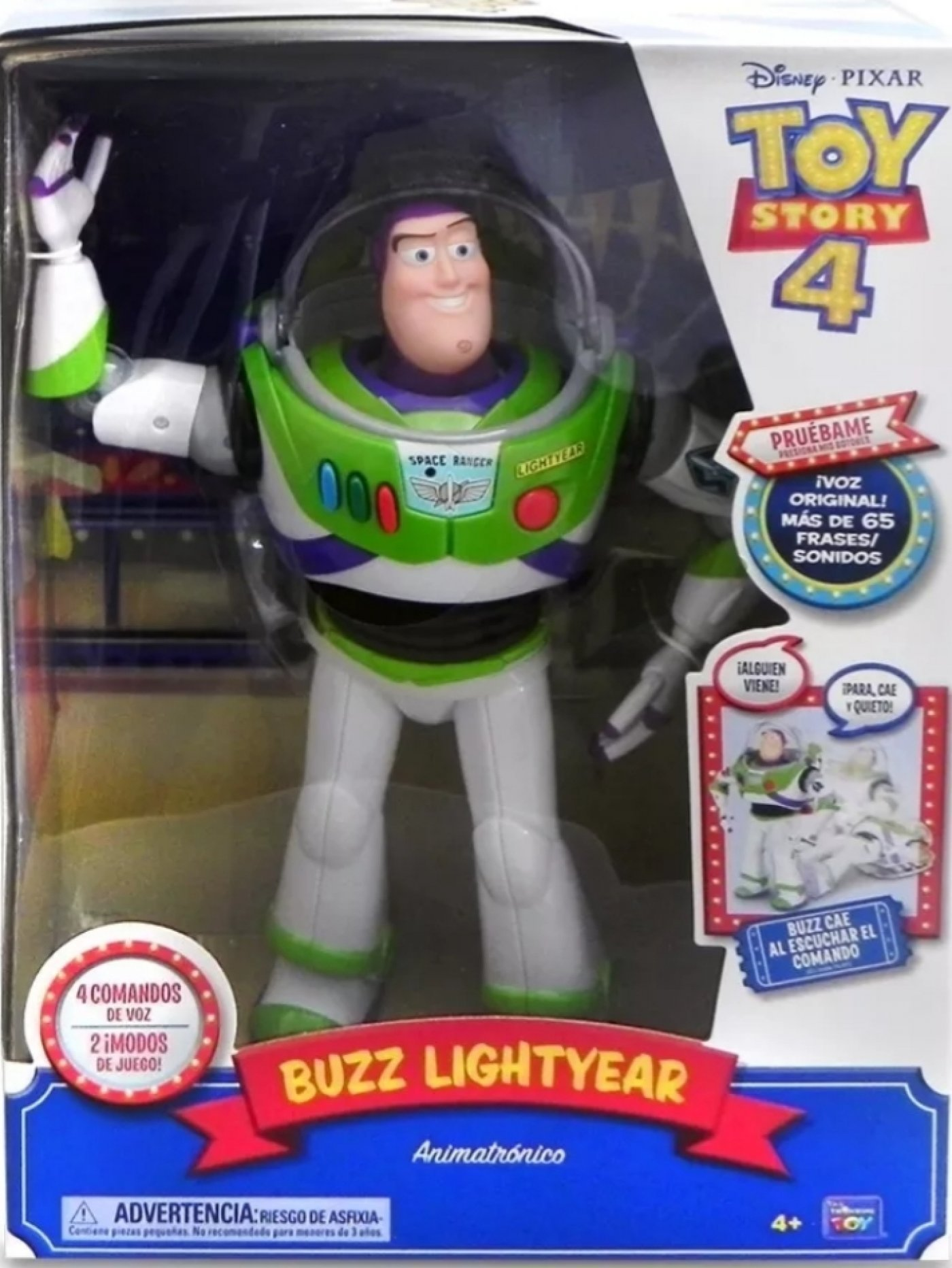 Toy Story 4 Buzz Lightyear ( Mas De 65 Frases )