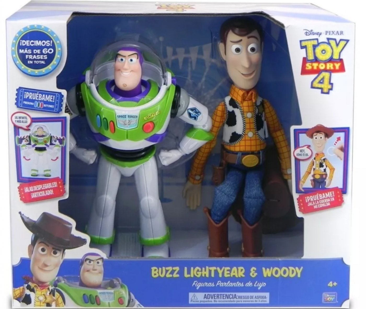 TOY STORY 4 WOODY Y BUZZ