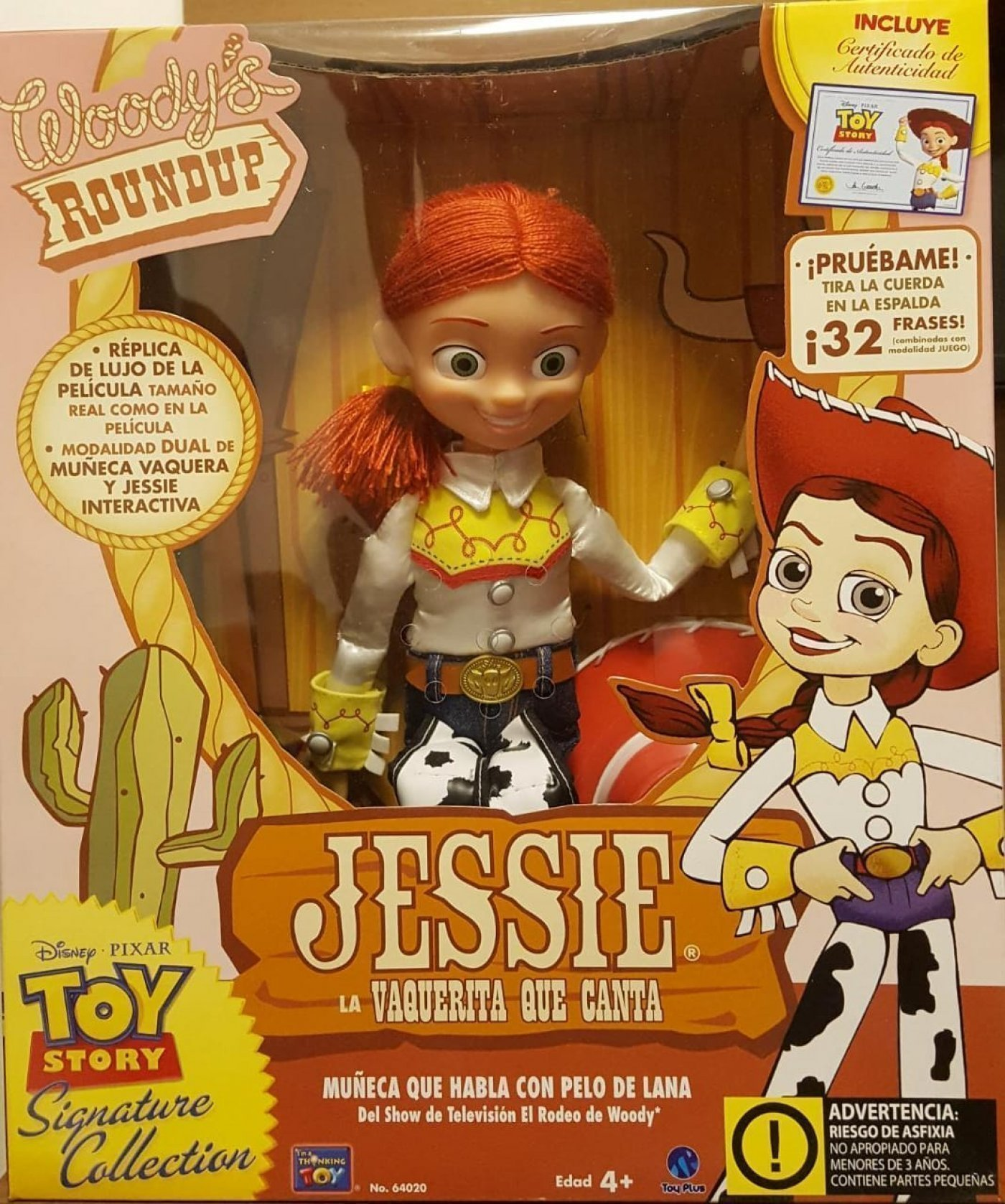 MUÑECA JESSIE INTERACTIVA , Signature Collection Toy Story.