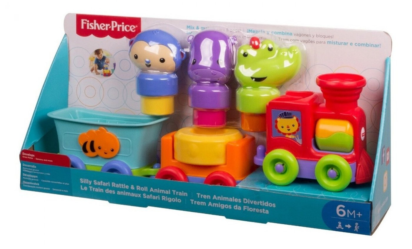 Tren Didactico de Animalitos - Fisher Price
