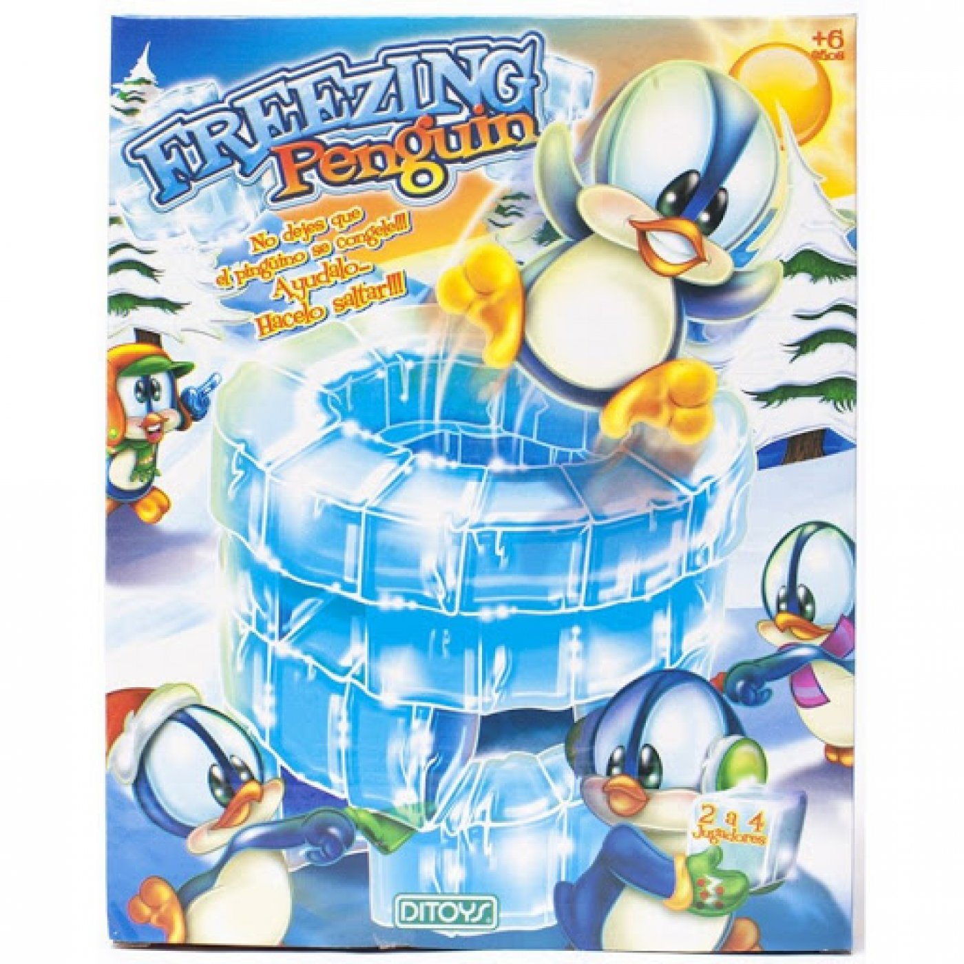 Freezing Penguin