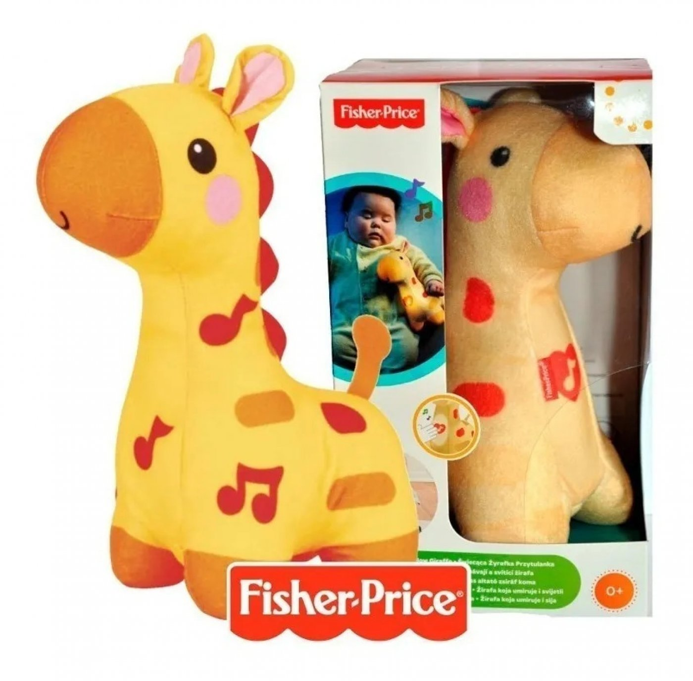 Fisher-price Jirafa Brillos Luminosos Juguete Para Bebés