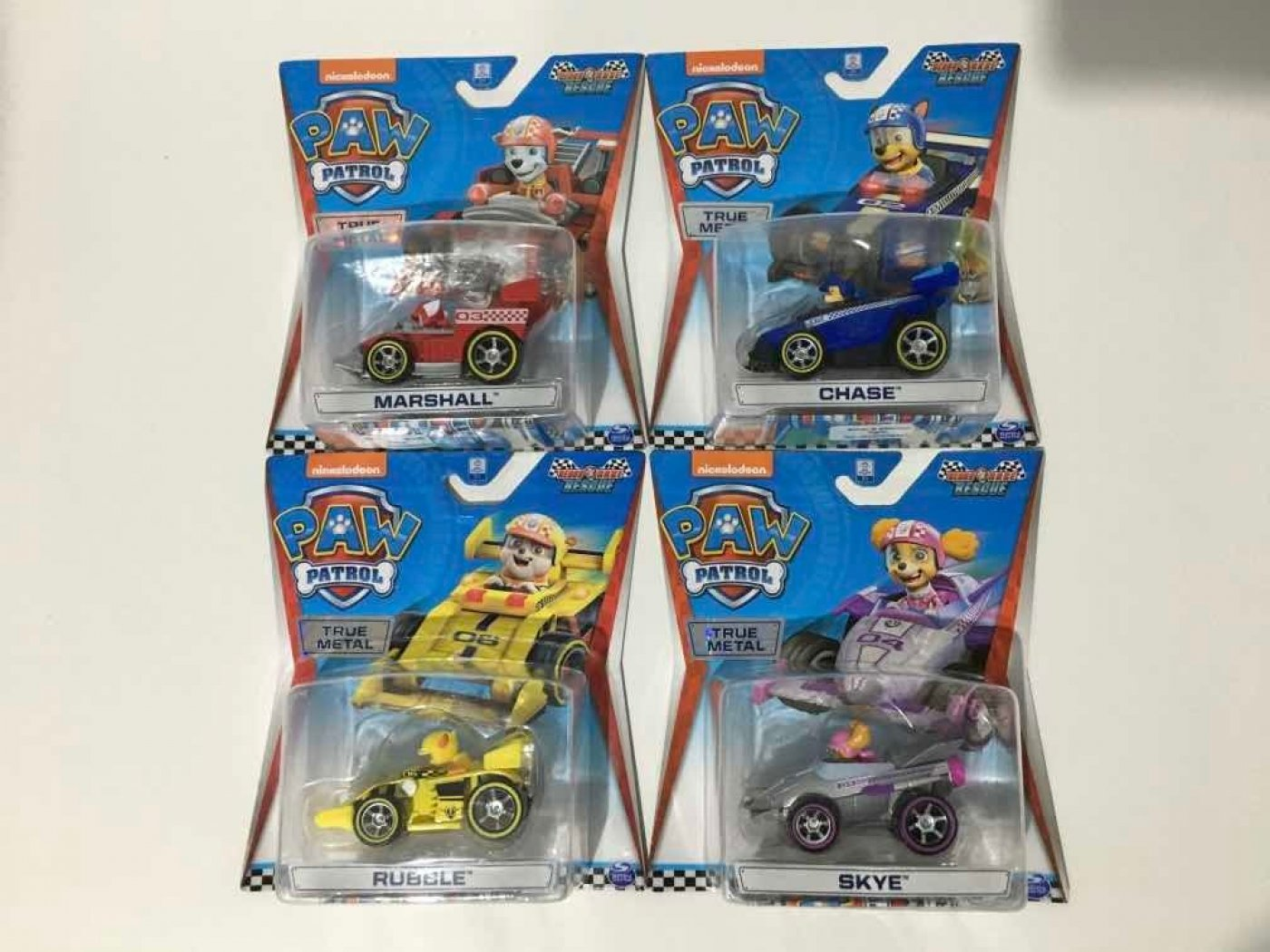 Vehículo Auto True Metal Ready Race Paw Patrol