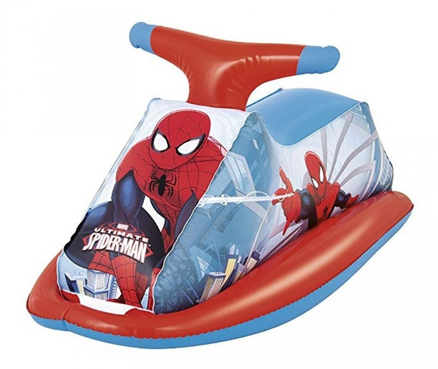 Jetski inflable de Spiderman