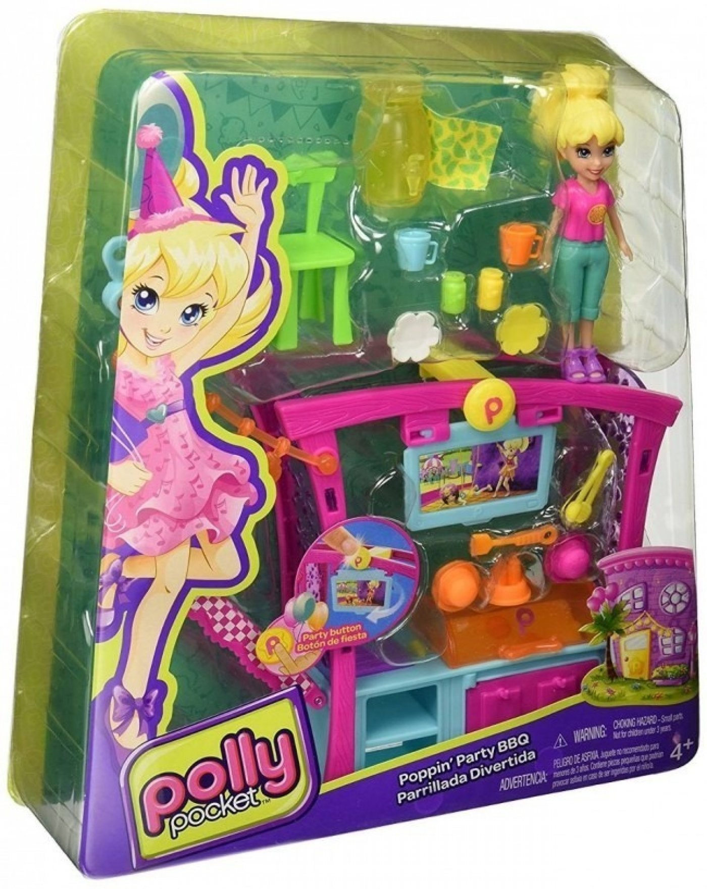 Polly Pocket Parrillada Divertida