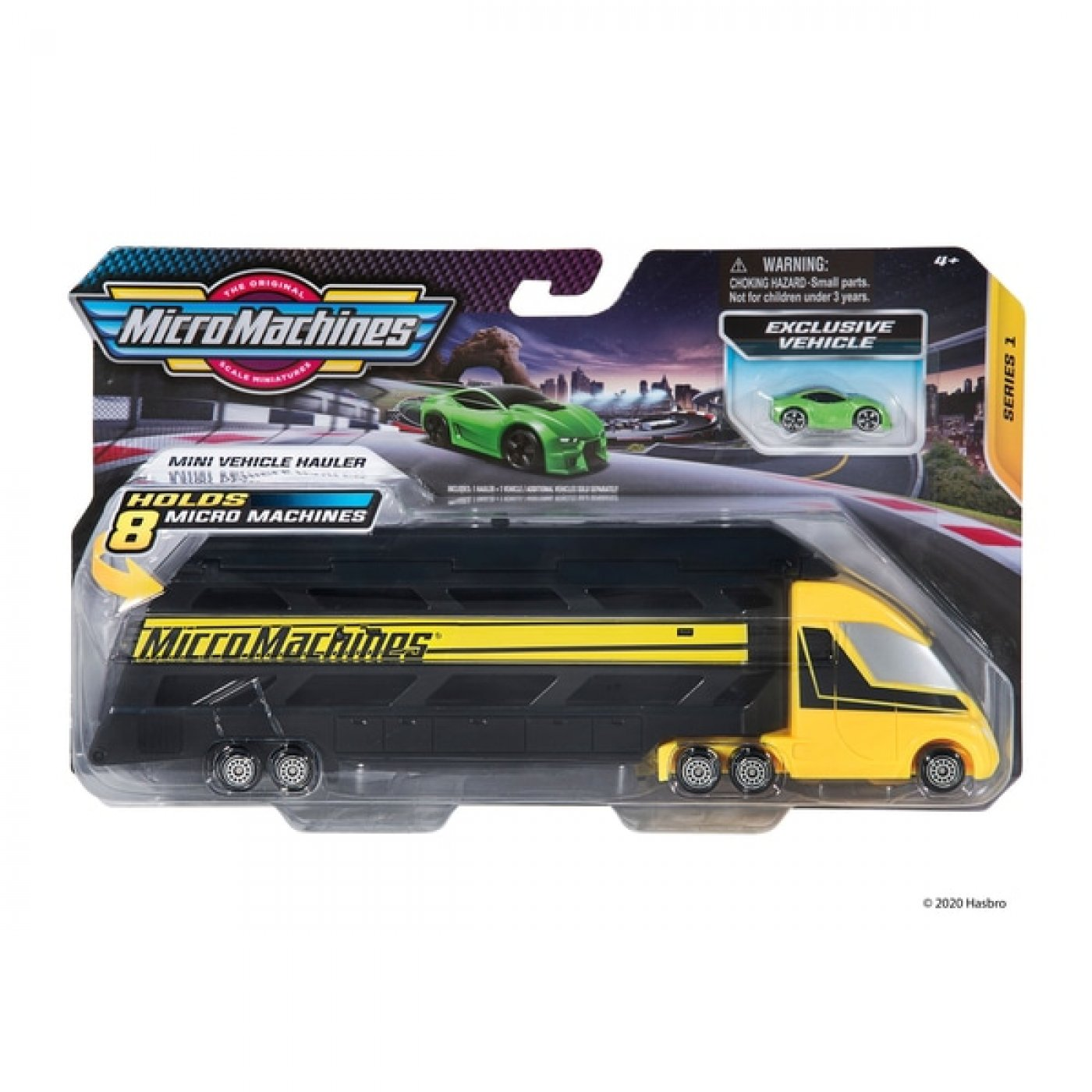 Micro Machines Hauler Transportador