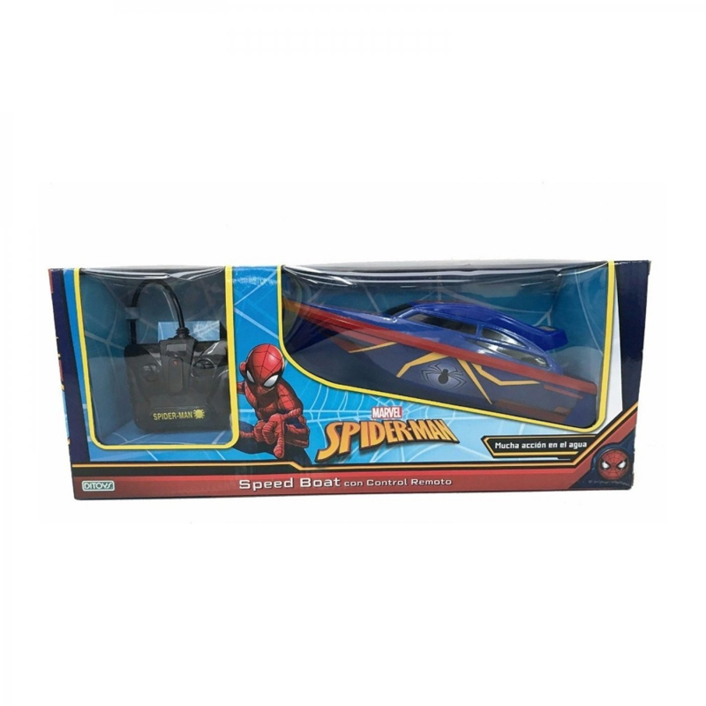 Spiderman Speed Boat Lancha  A Radio Control Ditoys