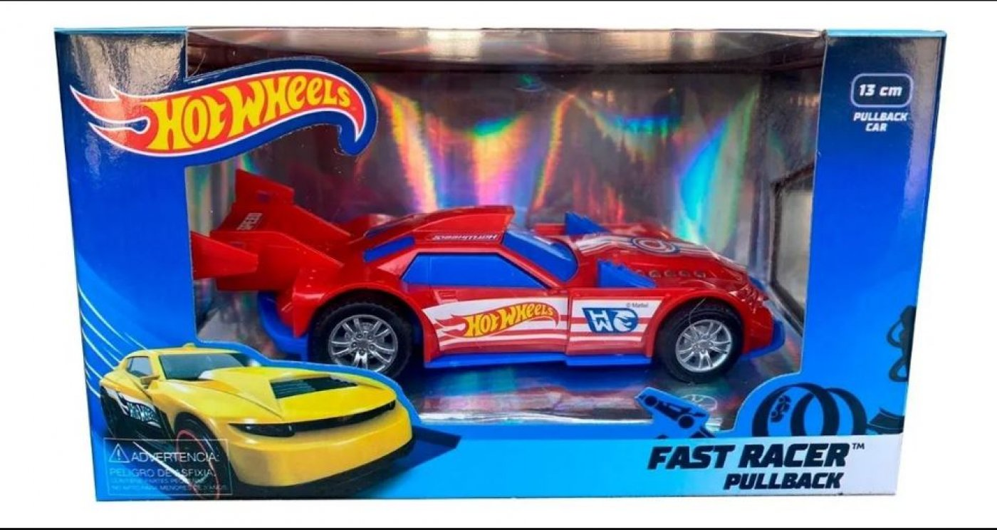 Hot wheels Racing Pull Back