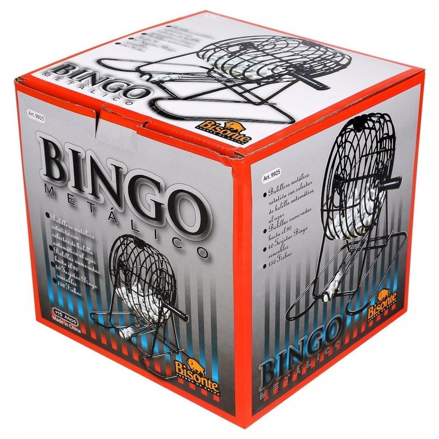 Bingo Metalico Familiar