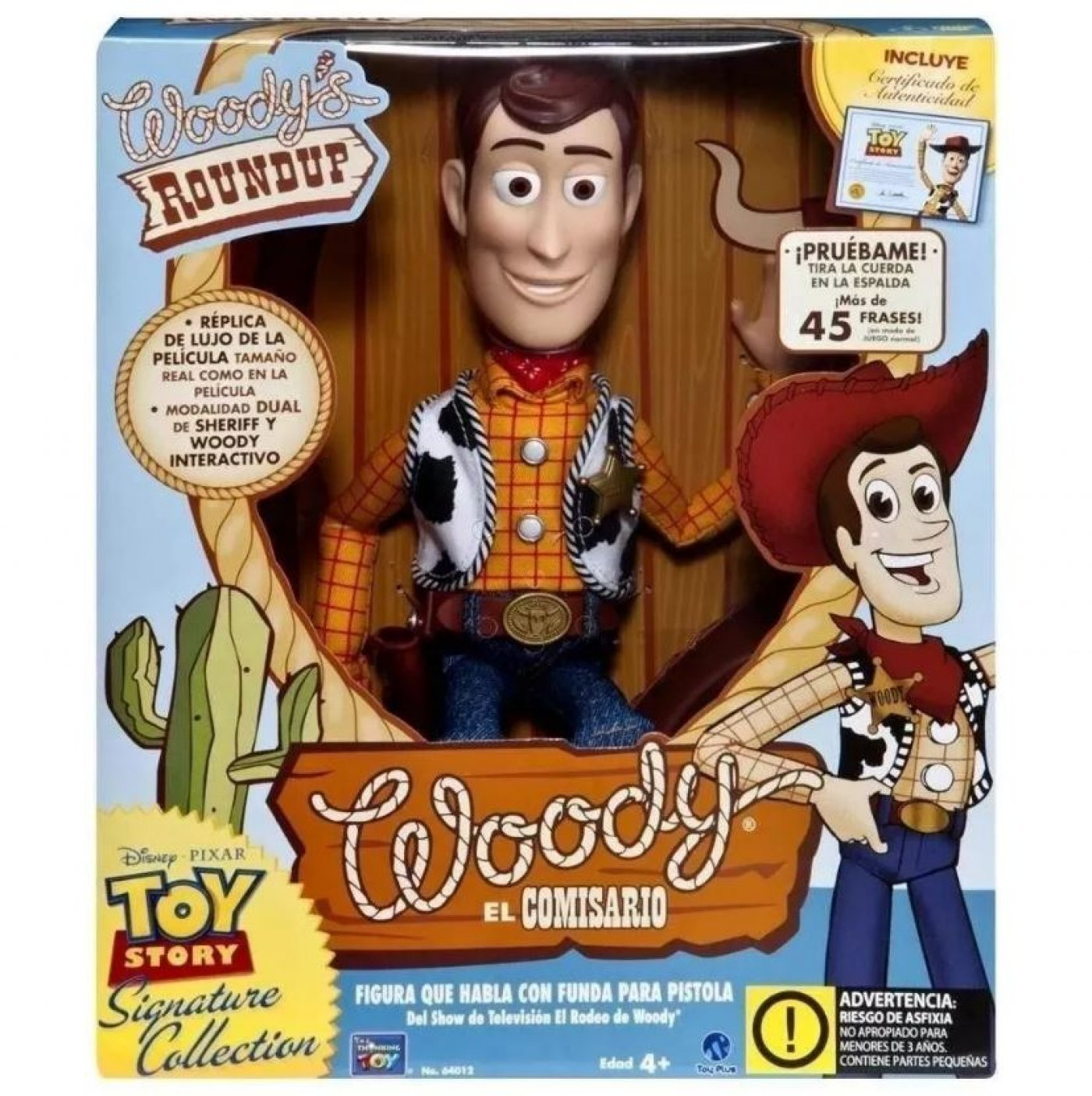 Woody Interactivo Signature Collection Toy Story Habla 45 Frases