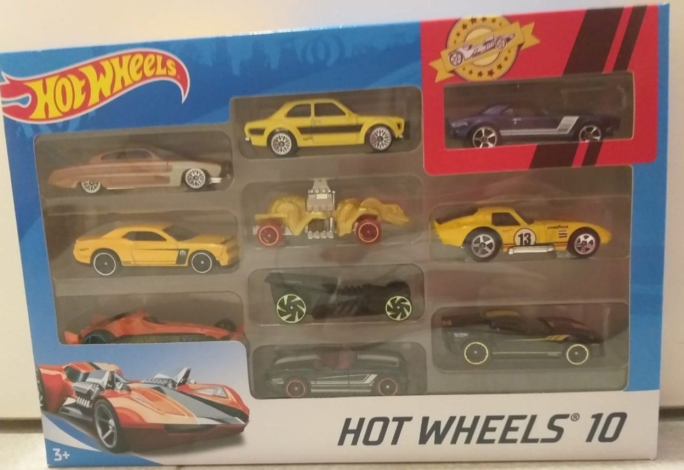 Hot Wheels Autitos x 10