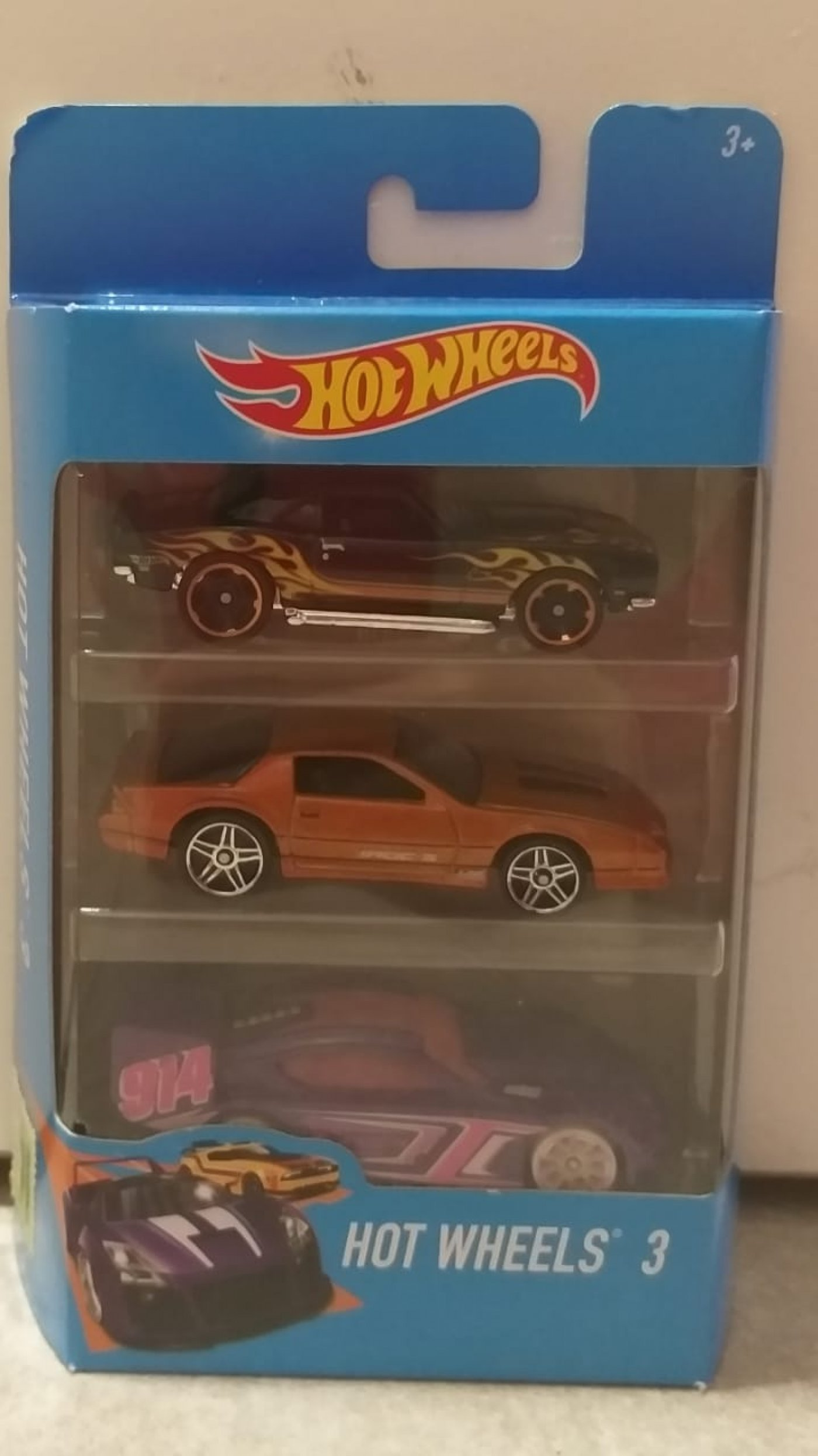 Hot Wheels Autitos caja x 3