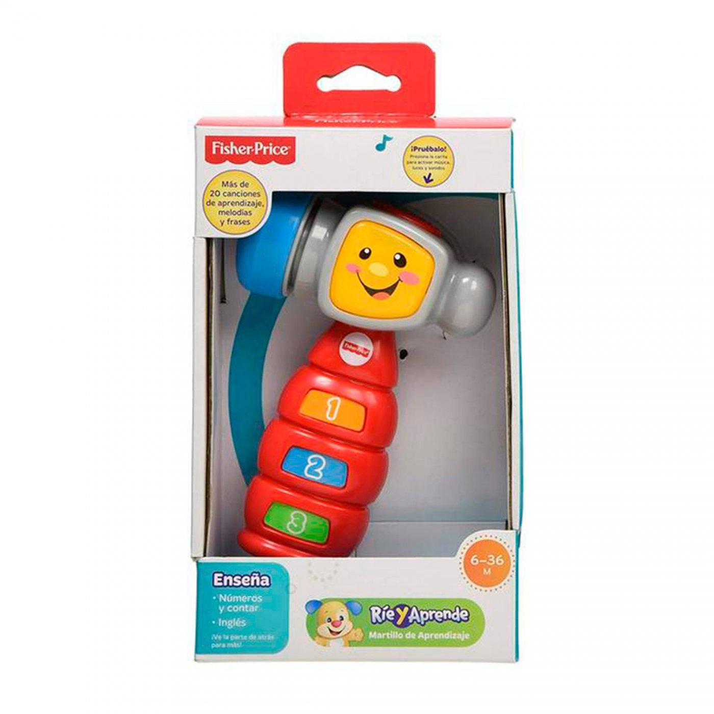 Martillo de Aprendizaje Fisher Price