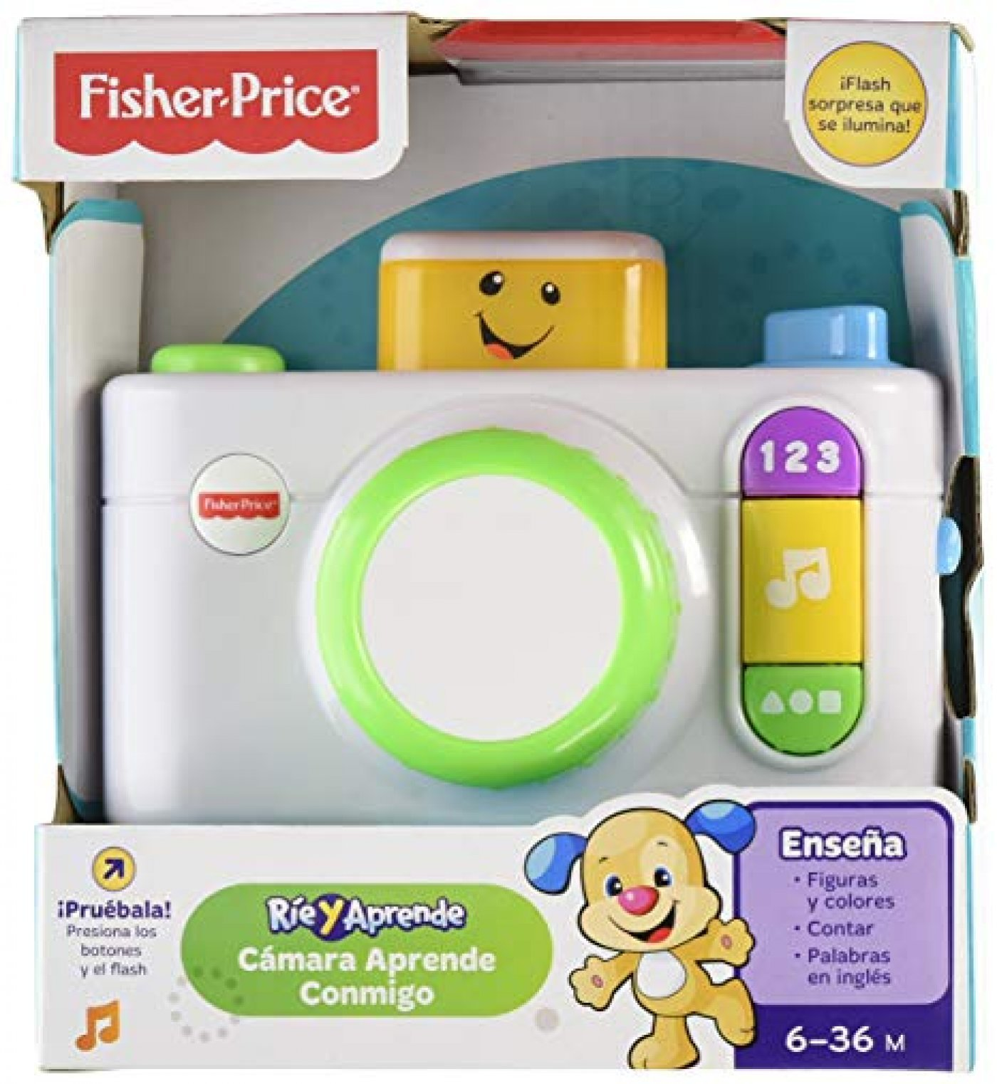 camara Aprende Conmigo Fisher Price
