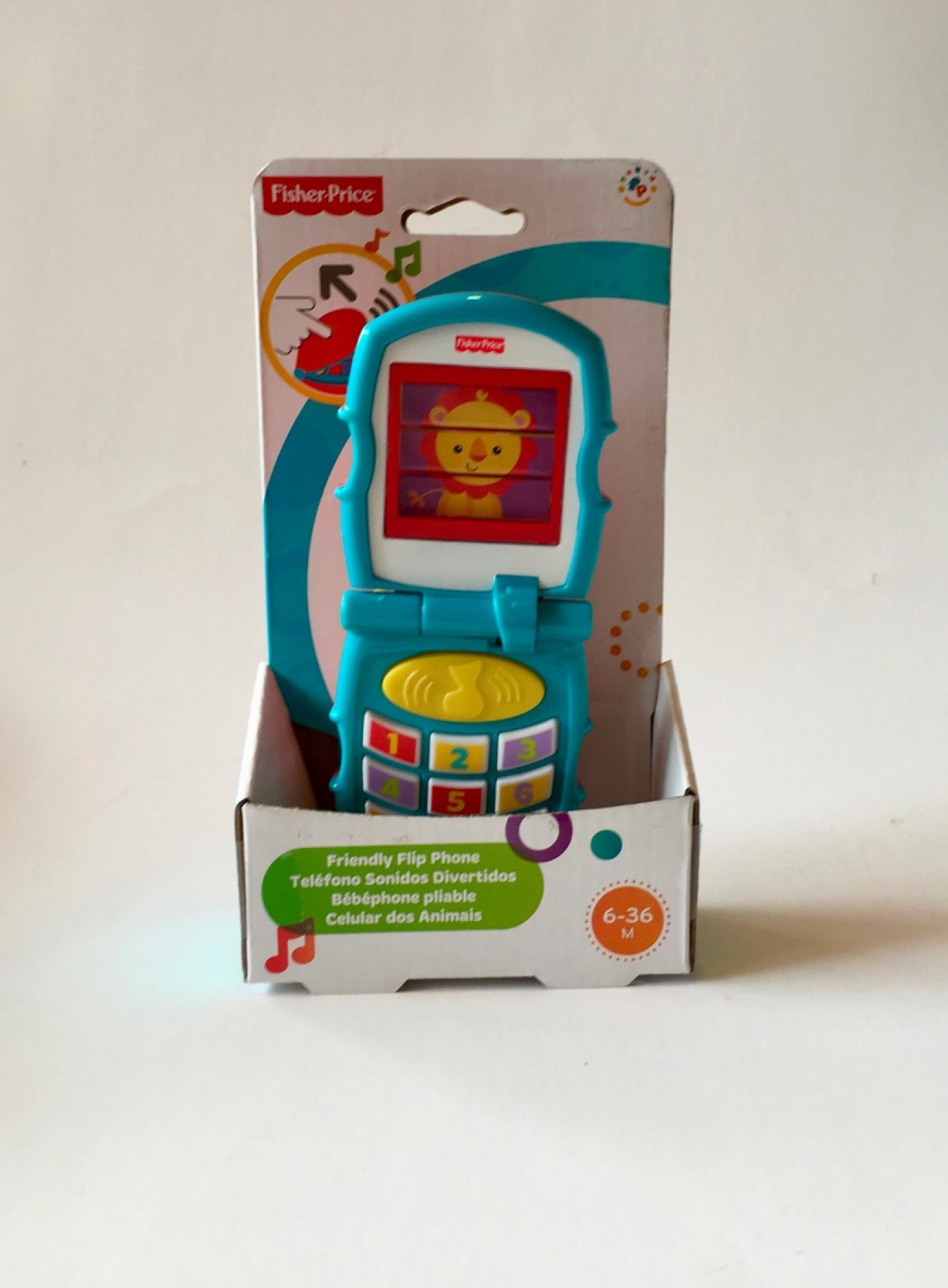 Telefono Sonidos Divertidos Fisher Price