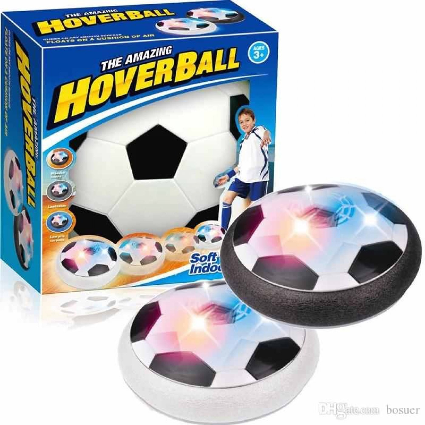The amazing hover ball