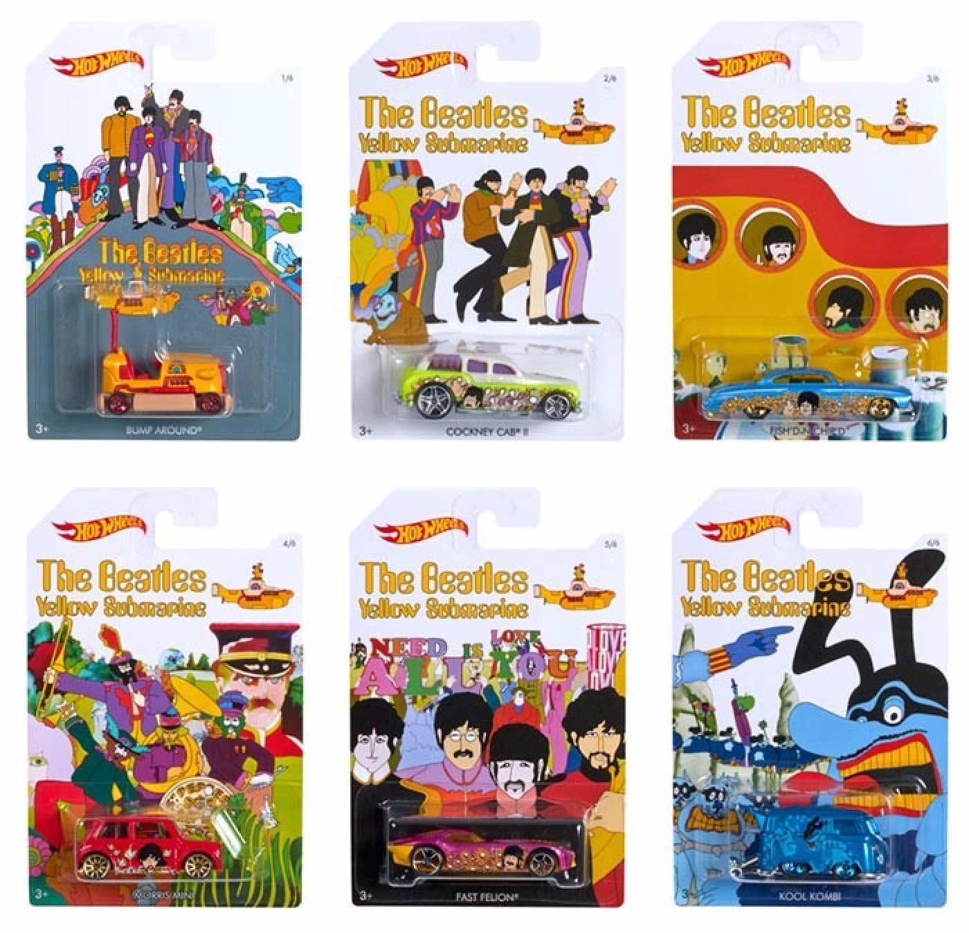 Hot Wheels Los Beatles Submarino Amarillo 50 Anivers.(lanus)