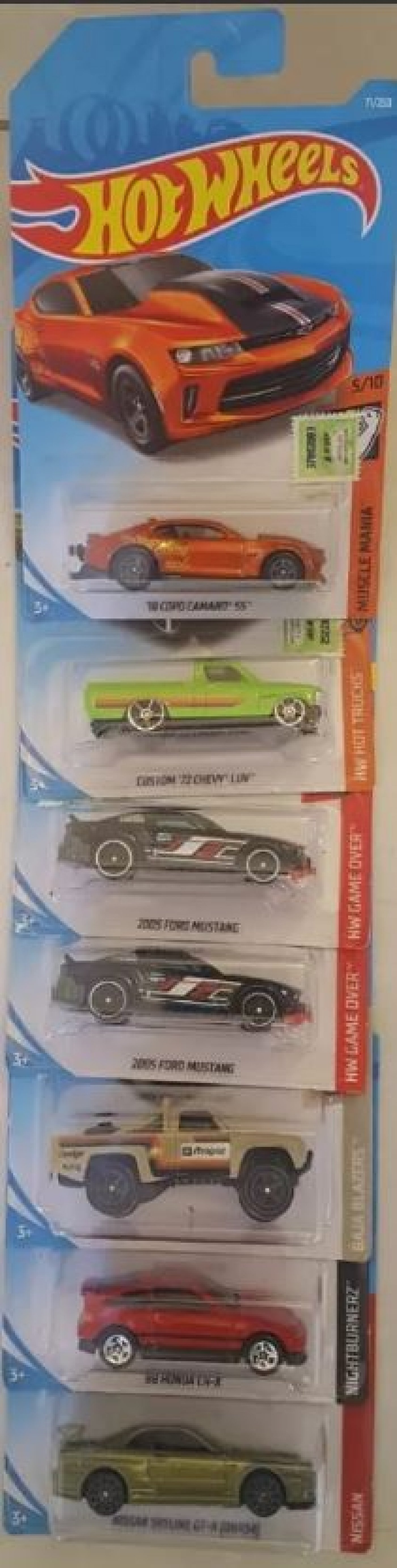 Hot Wheels Autitos X Unidad Original Mattel 2019