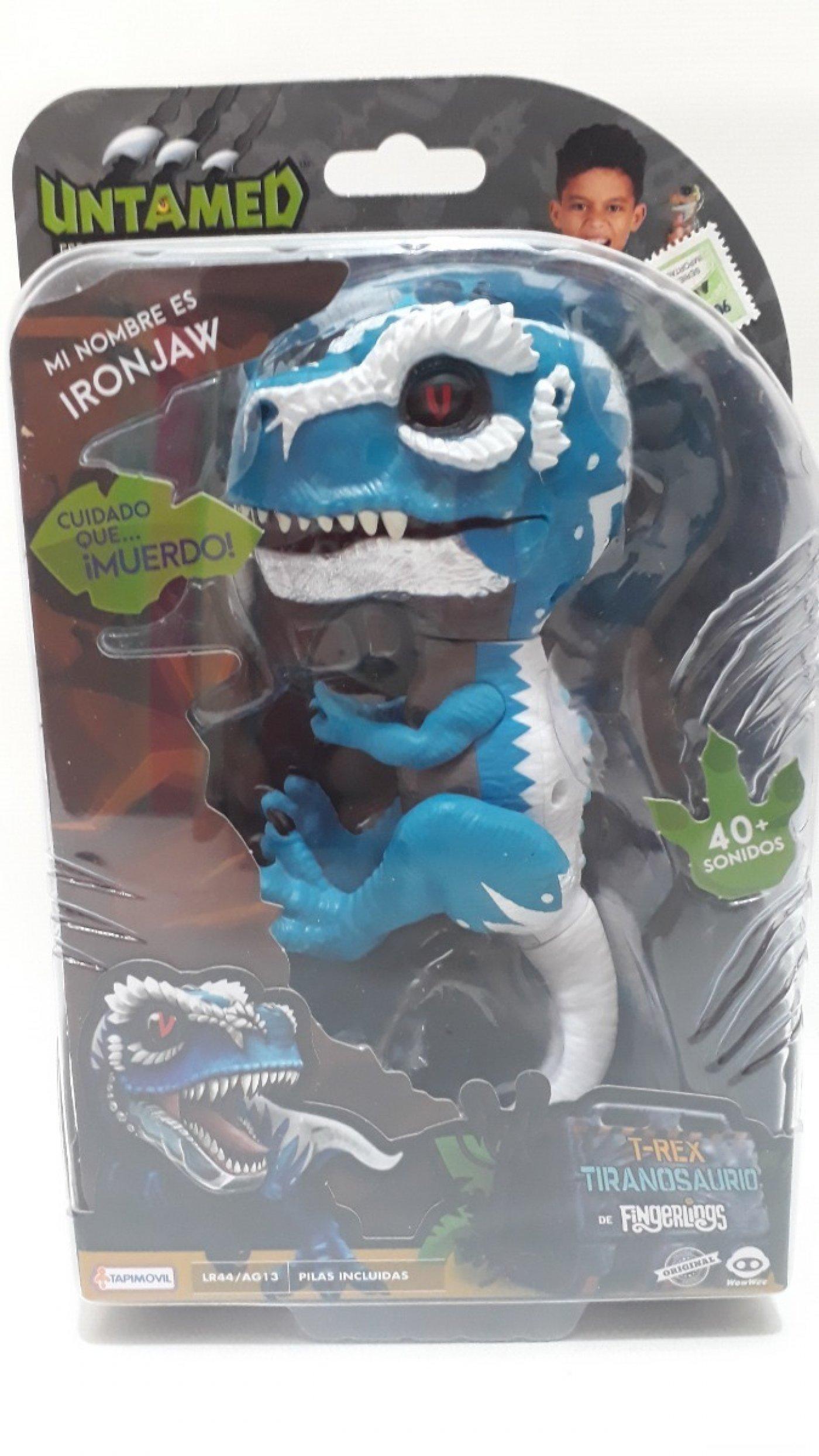 Untamed Dinosaurios Interactivo Los últimos dinosaurios es un simpático cuento para ensañar que las cosas cambian y tenemos los últimos dinosaurios. lo nuevo en jugueteria myr