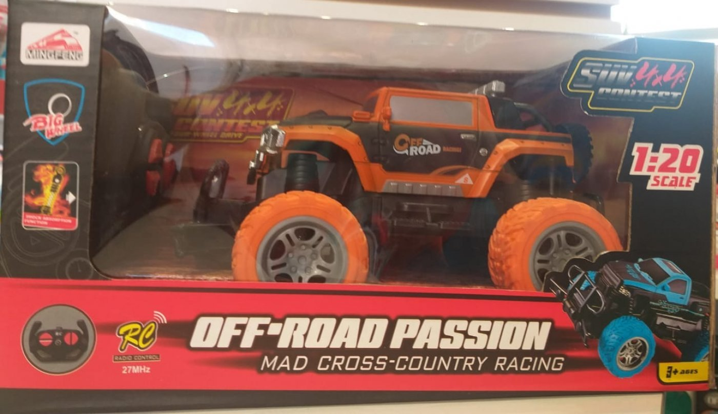 Camioneta con radio control Off-Road passion