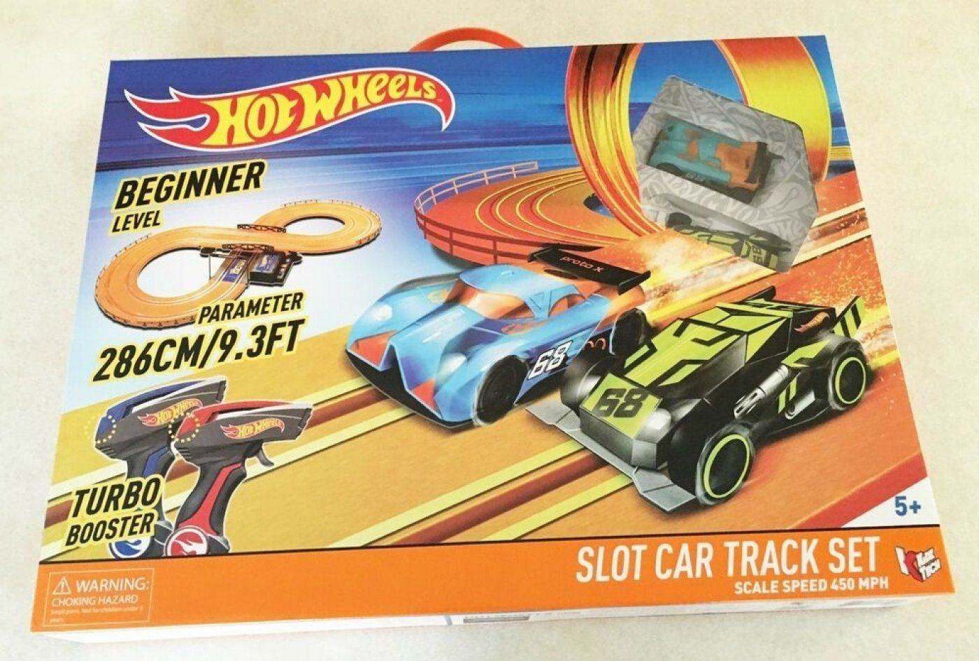 Hot Wheels Pista 286 Cm Megatoys