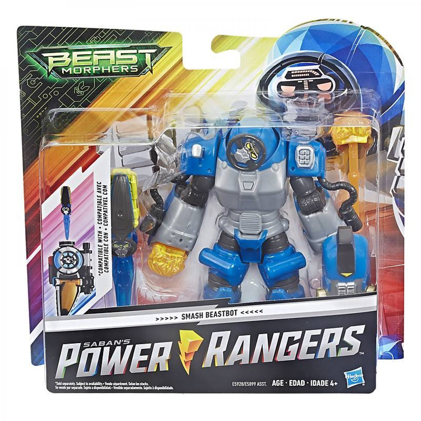 Power Rangers  Smash Beastbot Origina