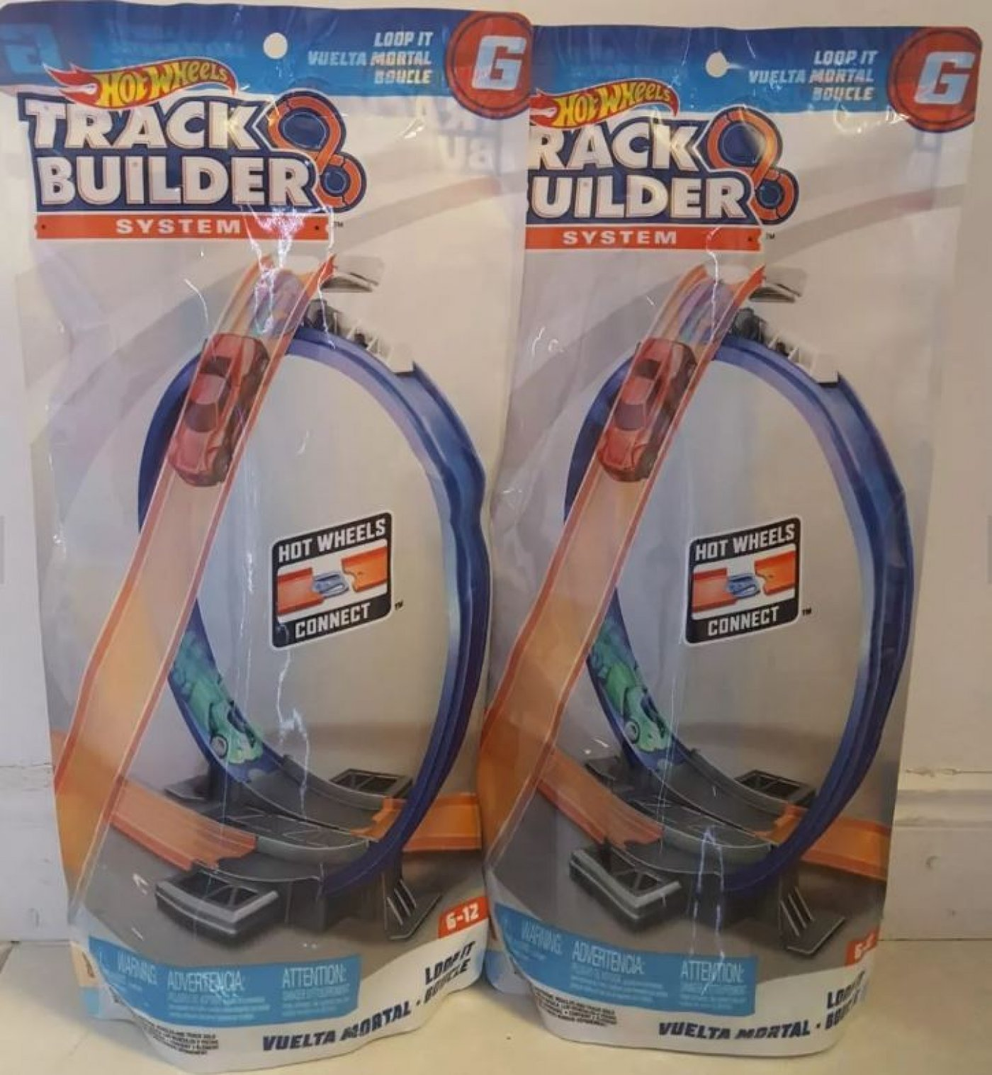 Hot Wheels Track Builder System Loop