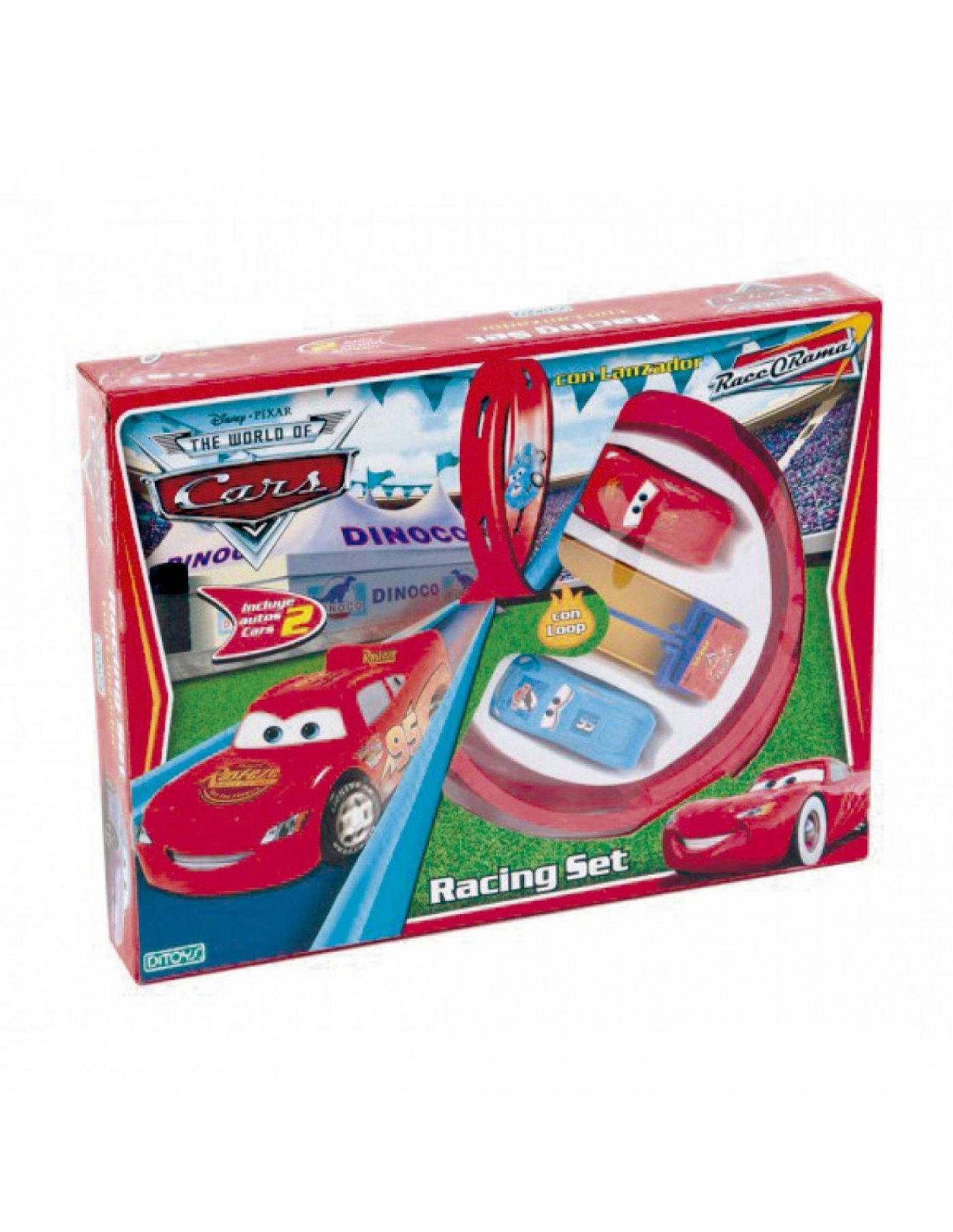 Cars Racing Set con Lanzador