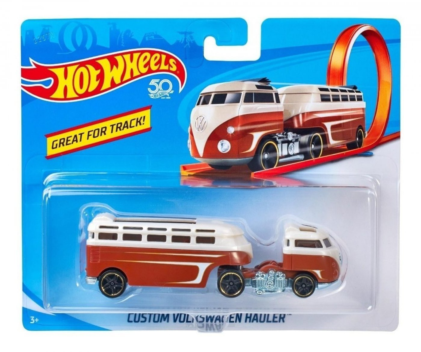 Hot Wheels Custom Volkswagen Hauler Camión Original Mattel