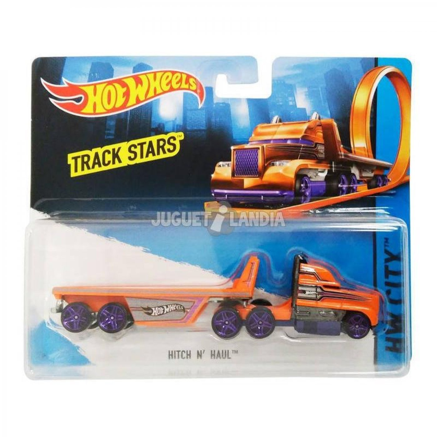 Hot Wheels Hitch N´ Haul Camion Original Mattel