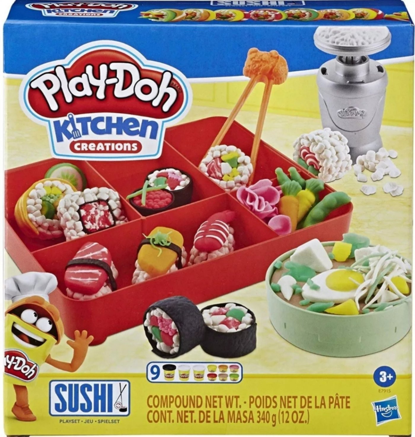 Masa Sushi Set Play-doh Kitchen