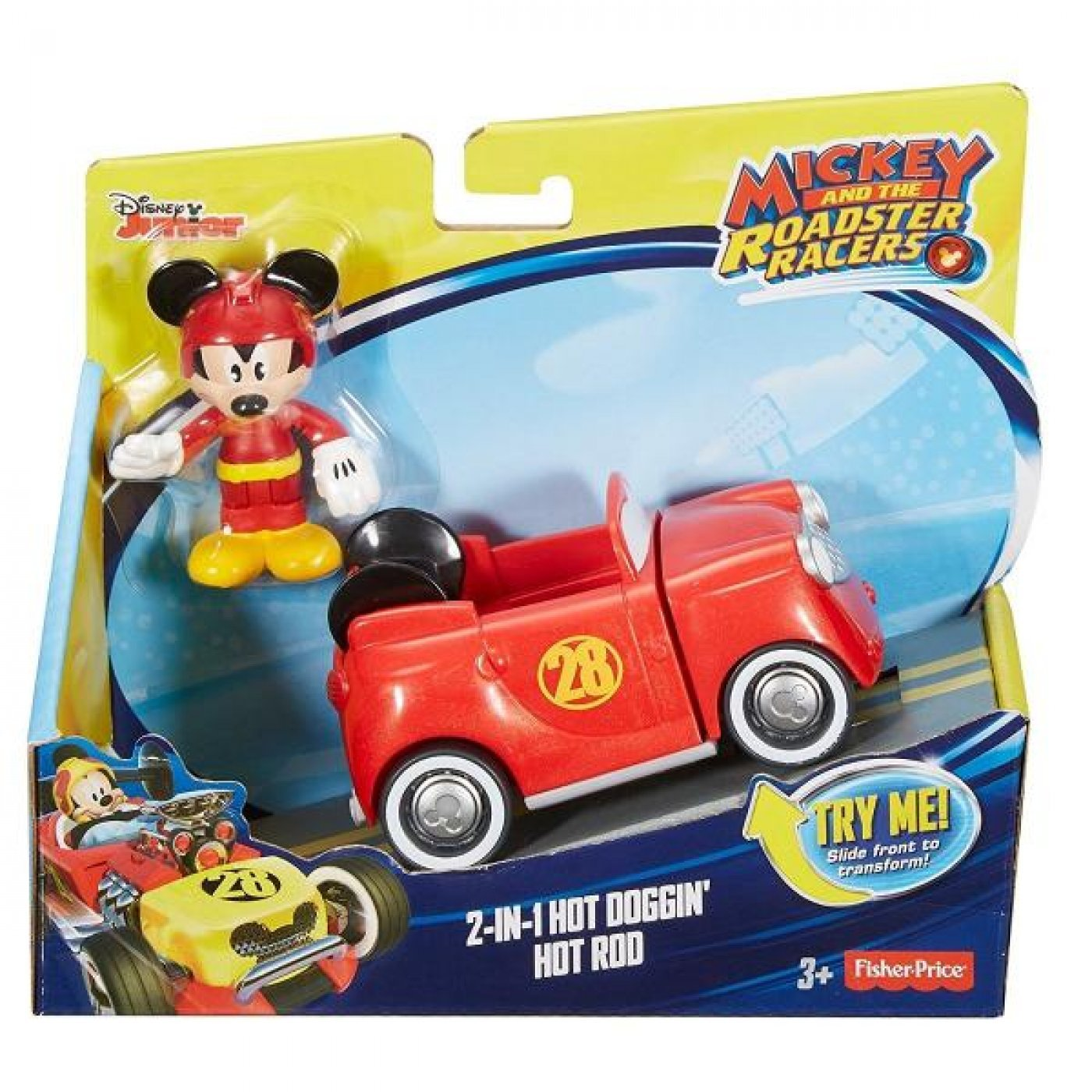 Mickey Turbocargado 2 En 1