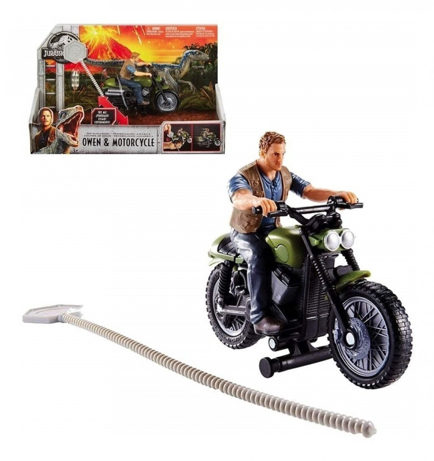 Jurasic World - Owen con Motocicleta