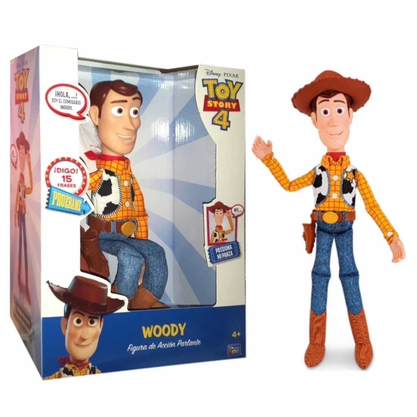 Woody ( 15 Frases) Toy Story 4