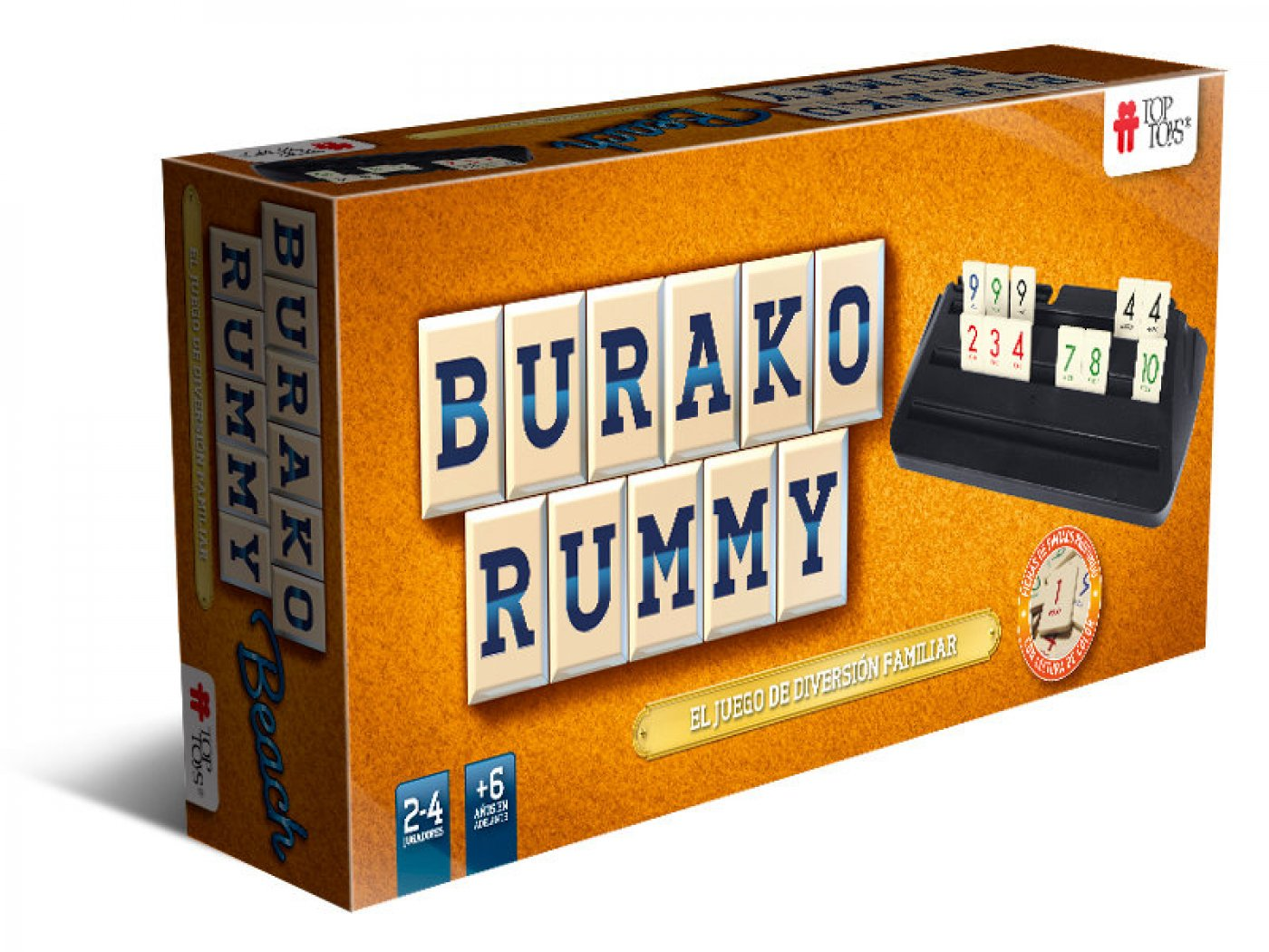 Burako Rummy de TopToys - Version Beach