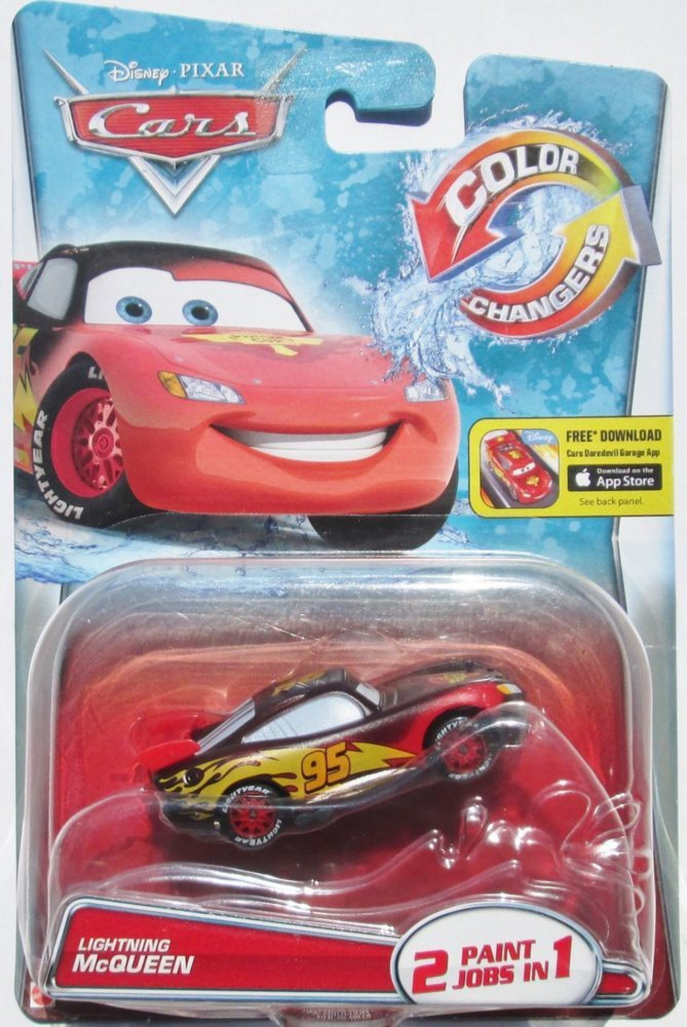 Cars Color Changers - Rayo Mcqueen