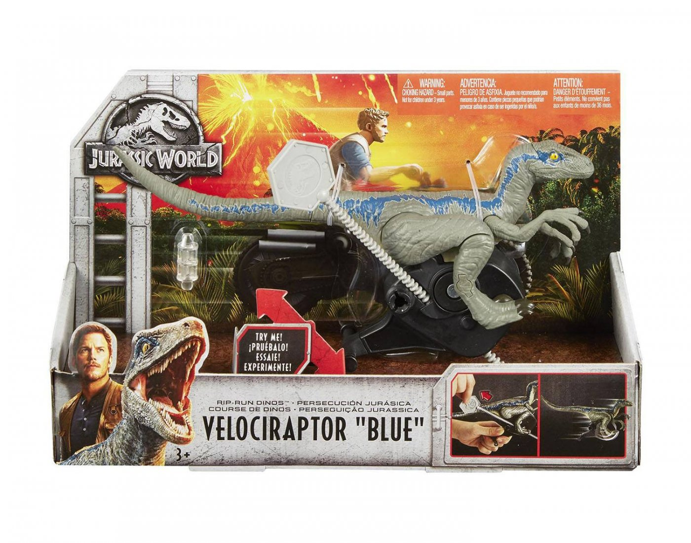Jurasic World - Velociraptor Blue