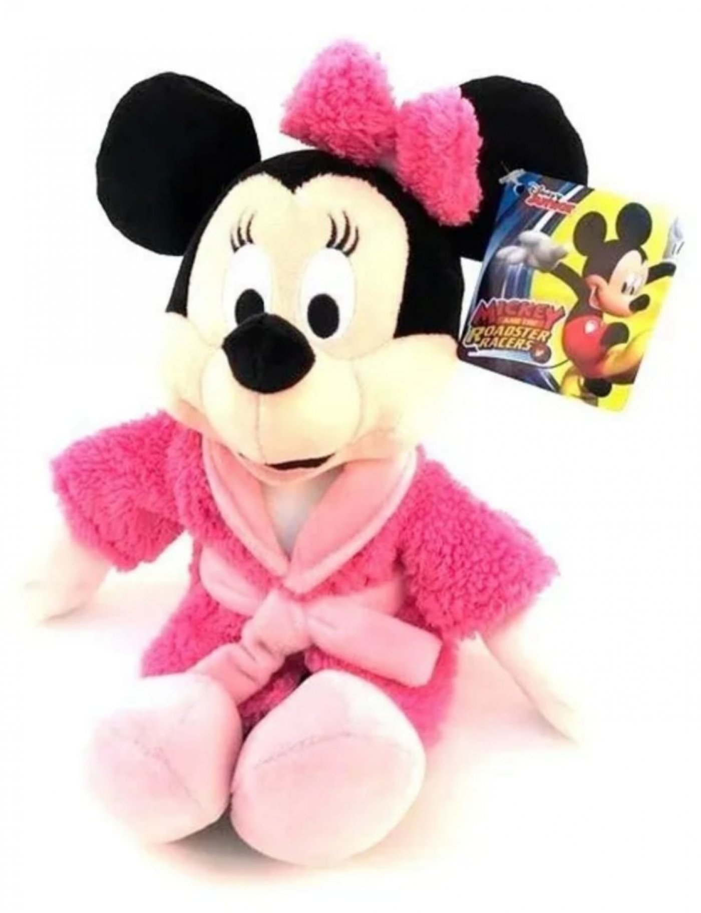 Minnie Mouse Con Bata Peluche Original Disney